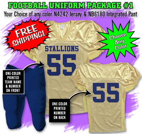 Football Uniform Package 1
