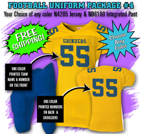 Football Uniform Package 4