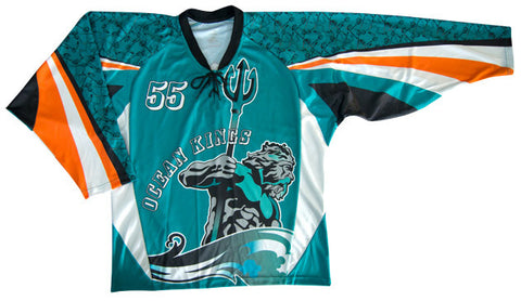 Forecheck Custom Sublimated Hockey Jersey Front View