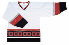 AK Pro Series Carolina White Jersey