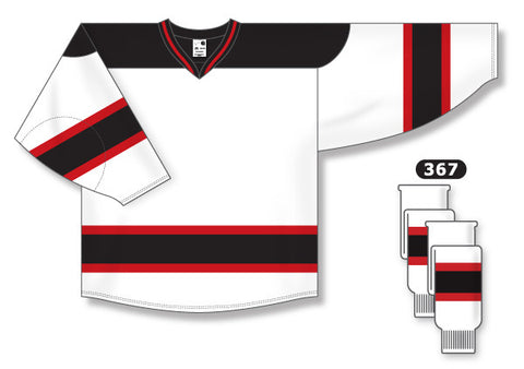 AK Pro Series New Jersey 2007 White Jersey