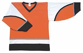 AK Pro Series Philadelphia 2002 Orange Alternate Jersey