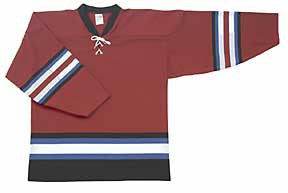 AK Pro Series Colorado 2001 Red Alternate Jersey