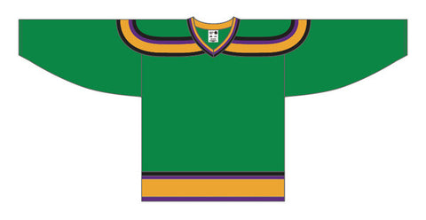 AK Pro Series Mighty Ducks Green Jersey