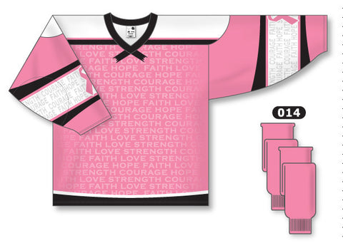 AK Pro Series Breast Cancer Awareness Pink Jersey