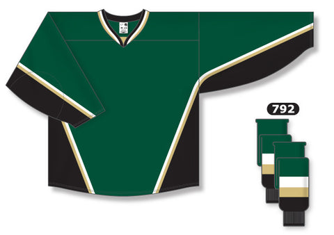 AK Pro Series Texas Dark Green Jersey
