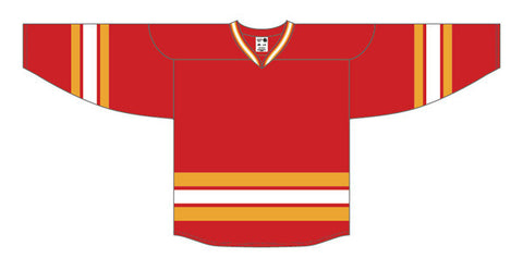 AK Pro Series Calgary 2009 Red Alternate Jersey