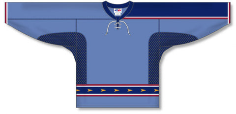 AK Custom Made Hockey Jersey Design 391