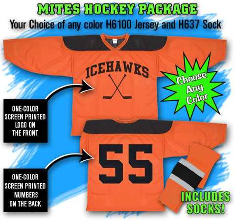 Mites Hockey Jersey Package