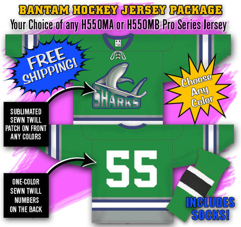 Bantam Hockey Jersey Package