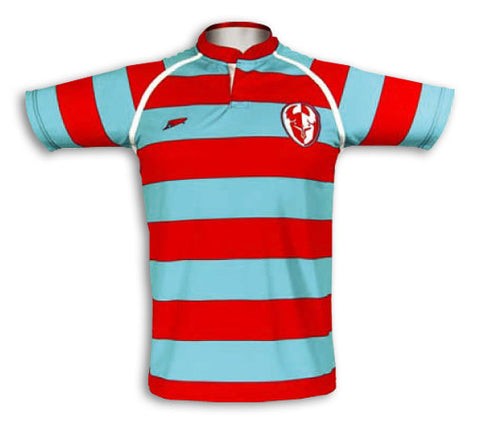 Hoops Custom Sublimated Rugby Jersey