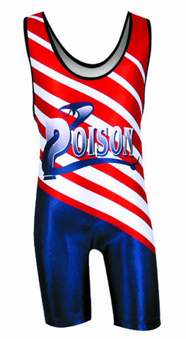 LASER Custom Sublimated Wrestling Singlet