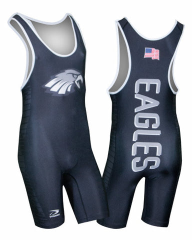 LIGHTNING Custom Sublimated Wrestling Singlet