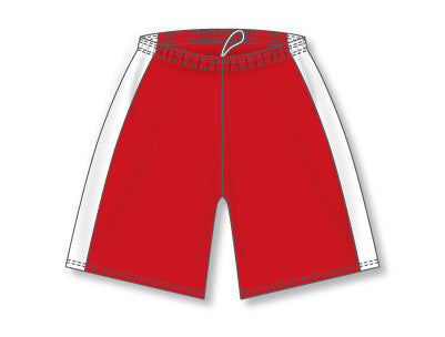 "LS9145L Performance Girls Lacrosse Short with Side Inserts 7"" Inseam"