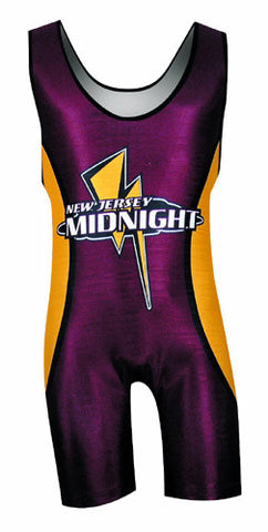 MAVERICKS Custom Sublimated Wrestling Singlet