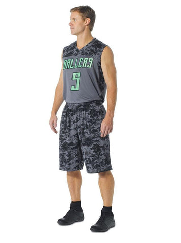 Men's Performance Camo Basketball Muscle