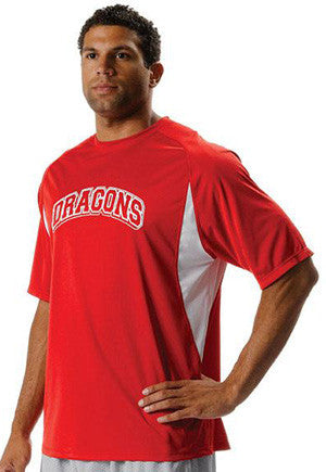 N3181 Crew Neck Polyester Interlock Tek Softball Jersey
