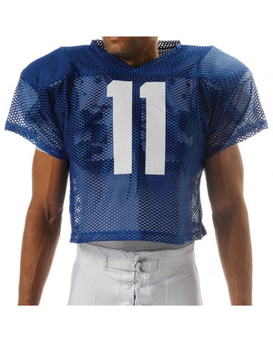 N4190 Porthole Mesh Football Practice Jersey