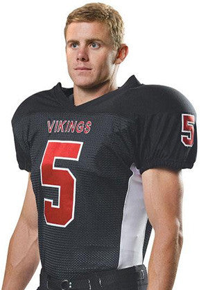 N4205 4-Way Stretch Mesh Football Game Jersey