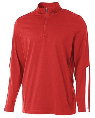 Men's League Quarter Zip Warm-Up Fleece