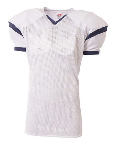 N4265 Rollout Jersey White/Navy