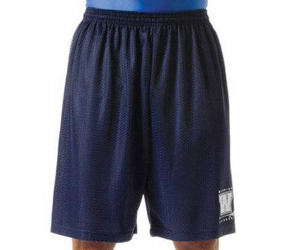 "Polyester Tricot Mesh 11"" Basketball Short"