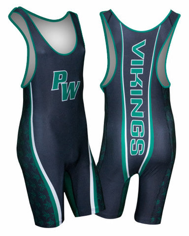 PHENOM Custom Sublimated Wrestling Singlet