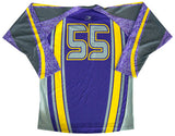 Playmaker Custom Sublimated Hockey Jersey Back View