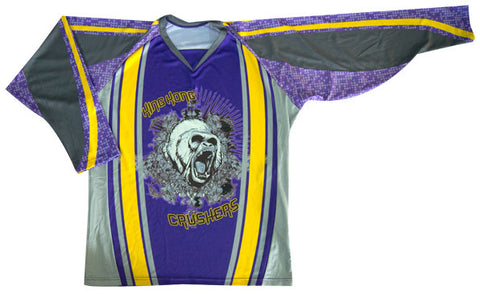 Playmaker Custom Sublimated Hockey Jersey Front View
