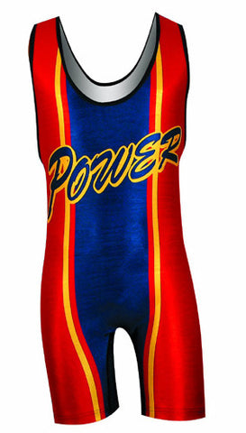 POWERHOUSE Custom Sublimated Wrestling Singlet