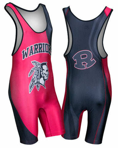 PREDATOR Custom Sublimated Wrestling Singlet