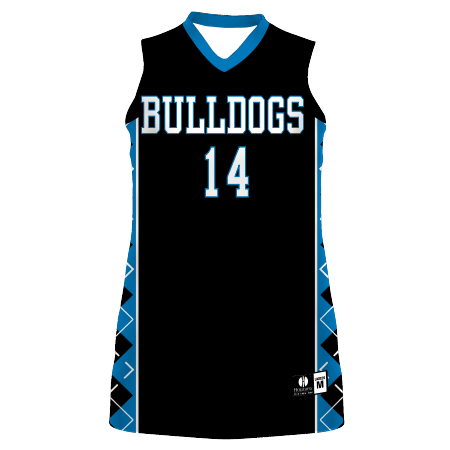 Ladies Freestyle Sublimated Lightweight Racerback Basketball Jersey