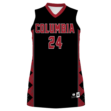 Ladies Freestyle Sublimated 4-Way Stretch Racerback Basketball Jersey
