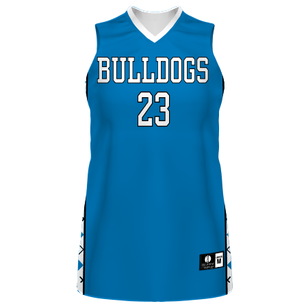 Ladies Freestyle Sublimated 4-Way Stretch Traditional Basketball Jersey