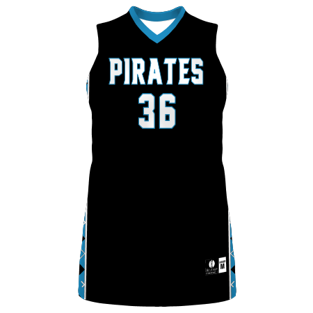 Ladies Freestyle Sublimated Lightweight Traditional Basketball Jersey