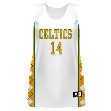 Ladies Freestyle Sublimated Reversible Basketball Jersey