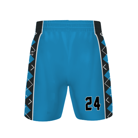 "Ladies Freestyle Sublimated 4-Way Stretch 7"" Basketball Shorts"