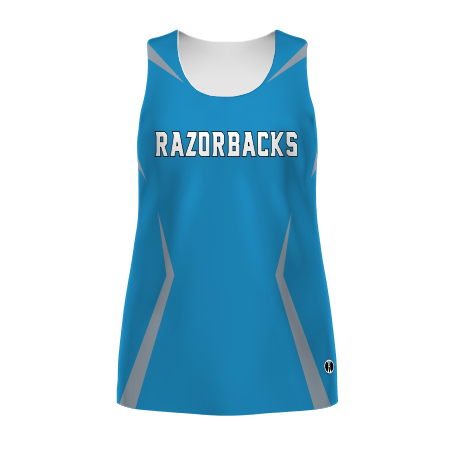 Ladies Freestyle Sublimated Fitted Track Jersey
