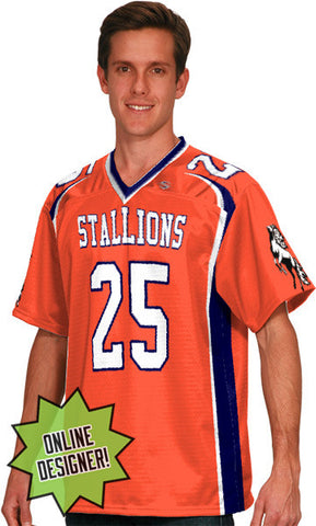 Wild Horse Custom Sublimated Flag Football Jersey