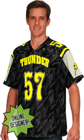 Thunder Storm Custom Sublimated Flag Football Jersey