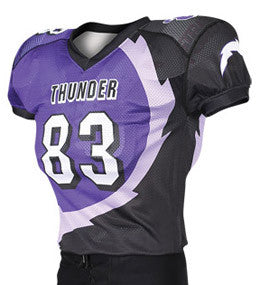 Dominator Custom Sublimated Raglan Football Jersey
