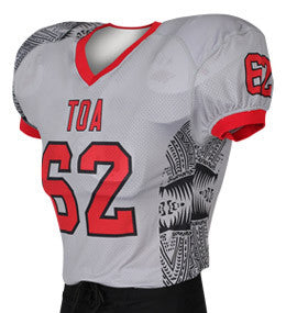 Tribal Custom Sublimated Raglan Football Jersey