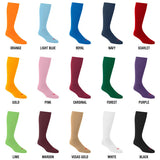 Style S8005 softball sock colors