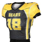 Adversary Custom Sublimated Skills Cut Football Jersey