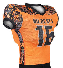 Attack Custom Sublimated Skills Cut Football Jersey
