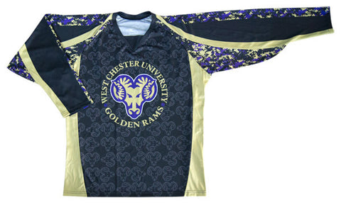 Sniper Custom Sublimated Hockey Jersey Front View
