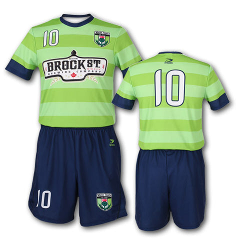 STRIKER Custom Sublimated Soccer Uniform