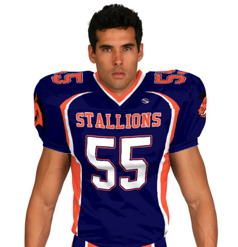 Wild Horse Custom Sublimated Football Jersey
