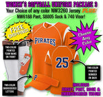 Women's Softball Uniform Package 3