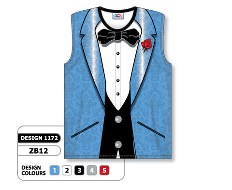 Custom Sublimated Basketball Jersey Design 1172